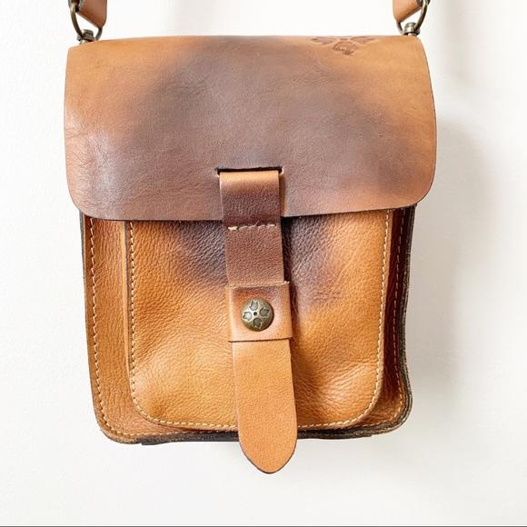 Patricia Nash Italian Leather Lari Crossbody